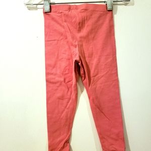 NWT Girls Leggings Discreet Bottoms Size 3T